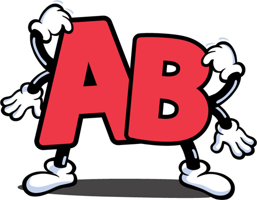 ผลการค้นหารูปภาพสำหรับ กรุ๊ปเลือด ab
