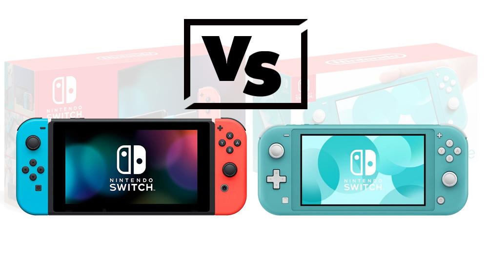 Nintendo Switch VS Nintendo Swith Lite
