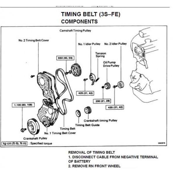 Cd ค ม อซ อม Wiring Diagram Toyota Camry เคร องยนต 3s Fe 2vz Fe