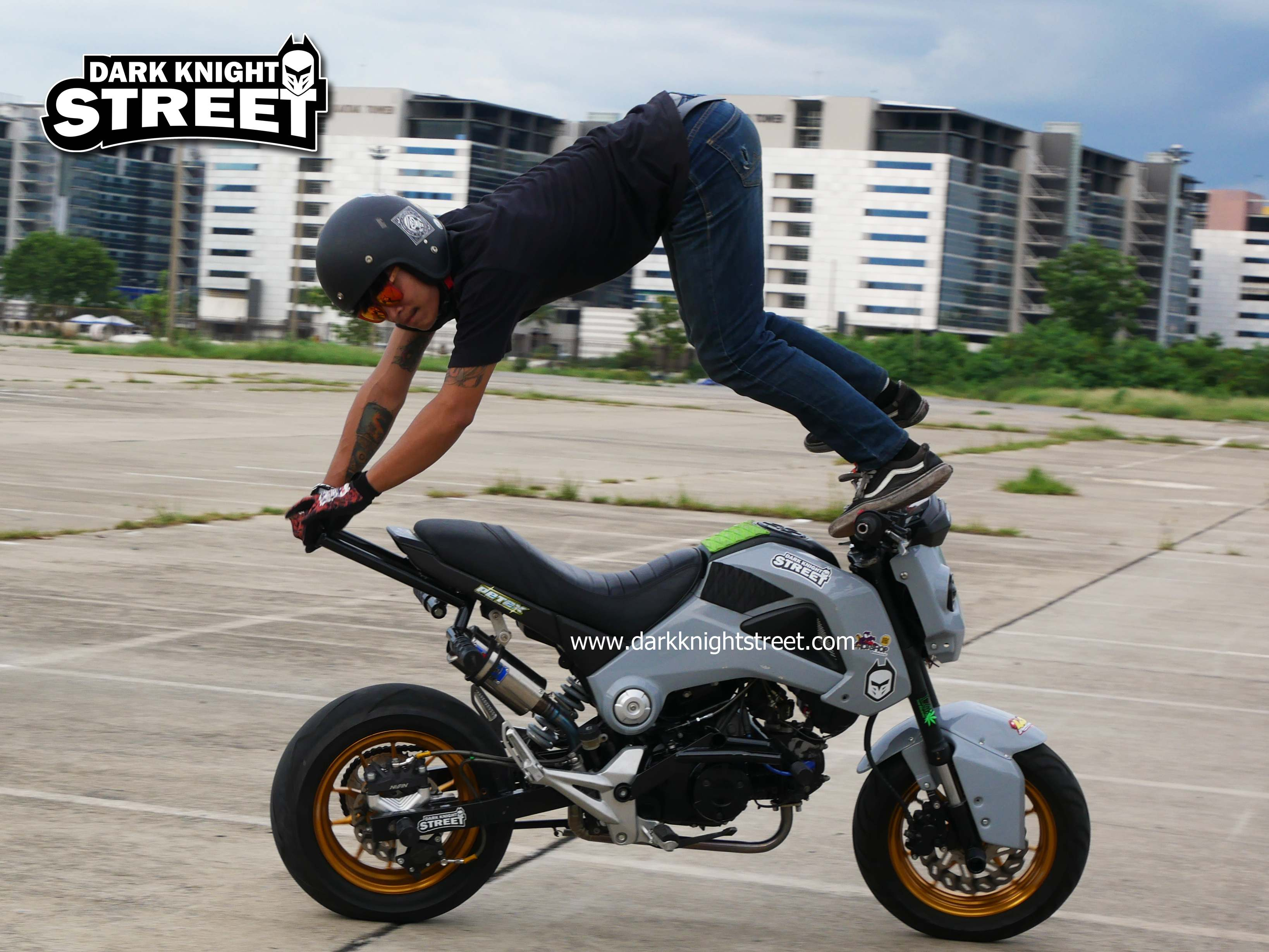 Honda Grom stunt parts - darkknightstreet : Inspired by LnwShop com